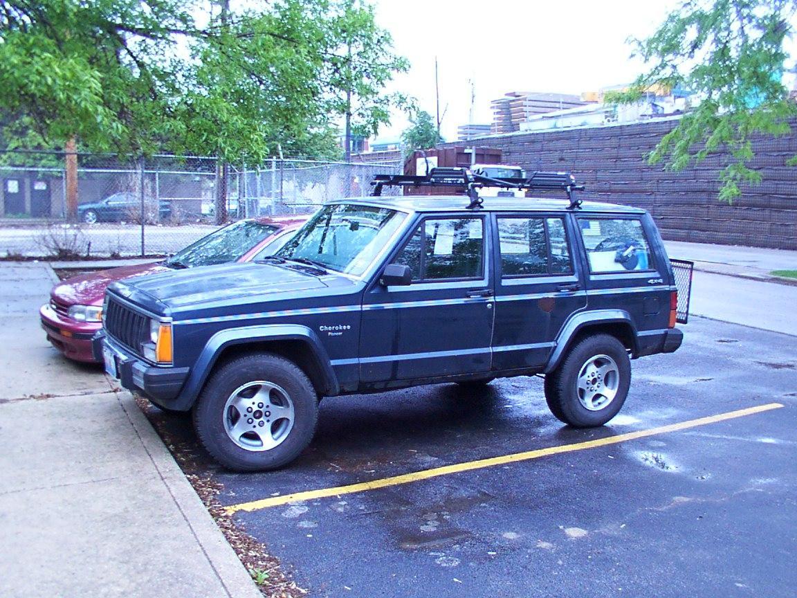 Tire Sizes Jeep Cherokee